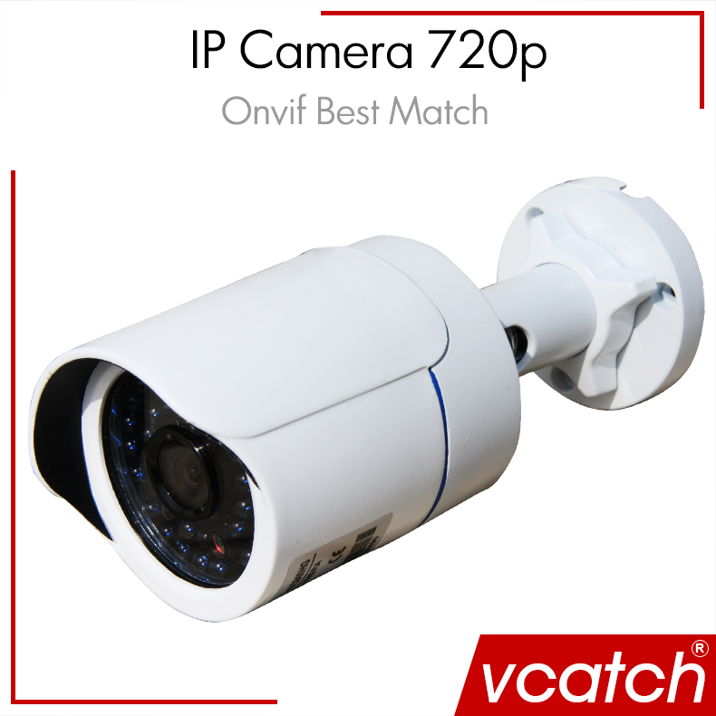 Vcatch CCTV Camera IP Camera 720P Outdoor Waterproof Network 1.0MP Mini HD CCTV Security Surveillance Camer