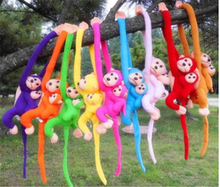 One Piece Kawaii Monkey Animal Soft Stuffed Plush Doll Kids Toys Cartoon Baby Children Birthday Gift 60CM 70CM 80CM 90CM WL141(China (Mainland))