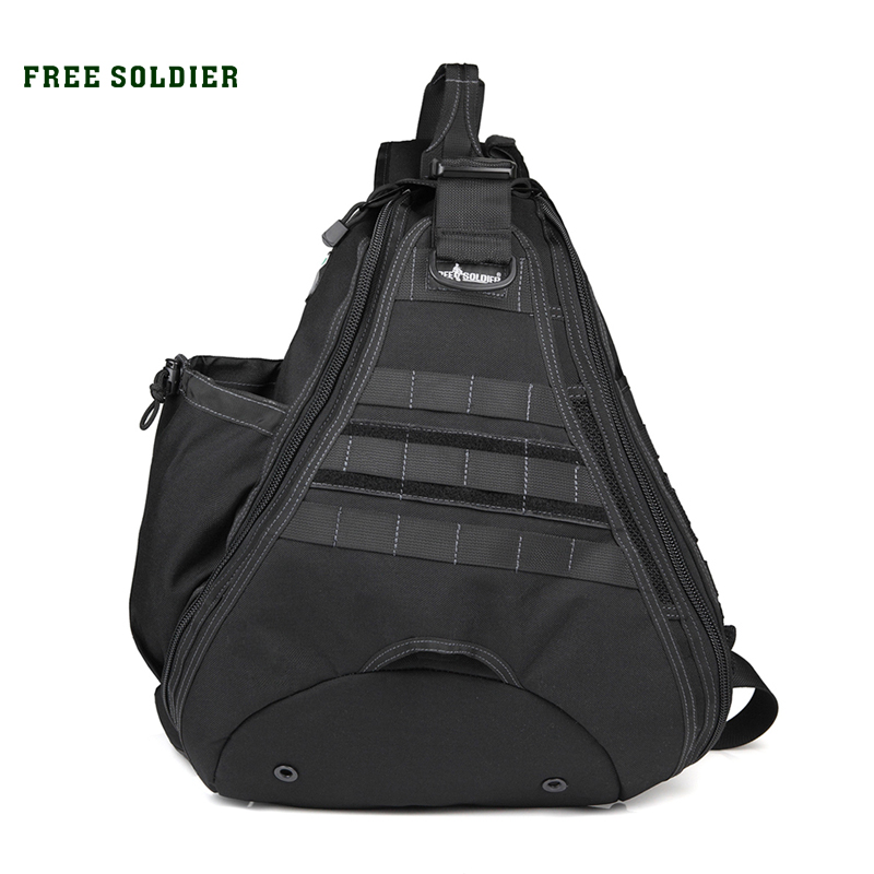 FREE SOLDIER Camping &hiking men &women Bags High quality 1000D nylon Single shoulder bags(China (Mainland))