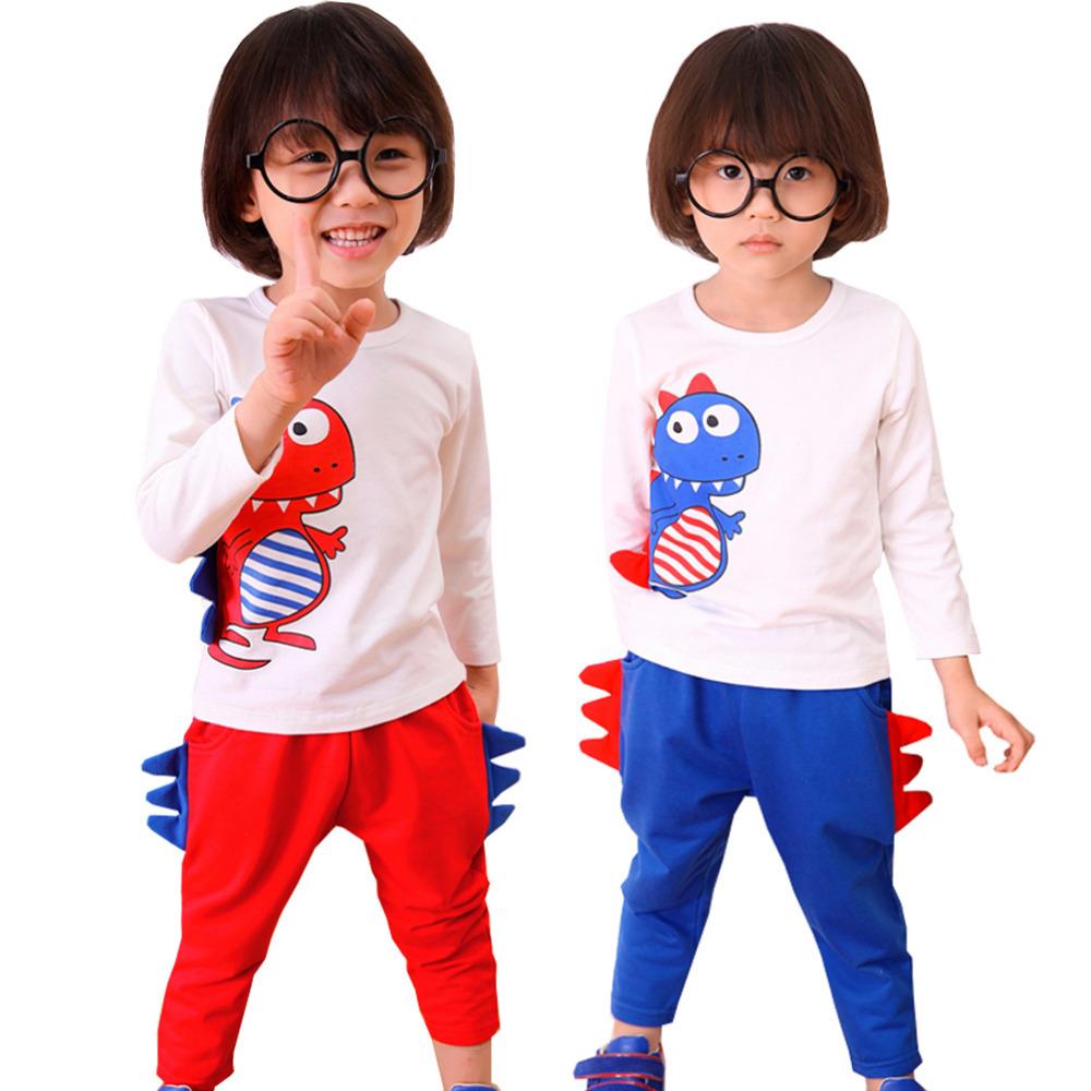 Fashion Korean Baby Kids Clothes Sets Spring Autumn