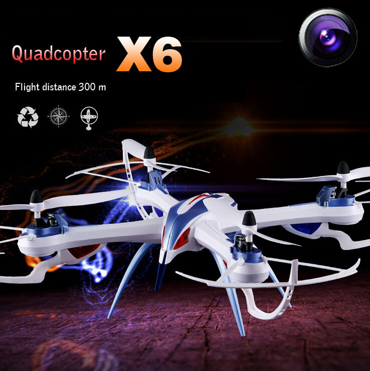 Tarantula X6 professional drones 4CH RC quadcopter with 5MP camera HD drone RTF 2.4GHz Electric toys with Original box(China (Mainland))