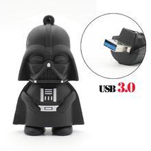 Star wars USB 3.0 USB flash drive darth vader pen drive gift 16g/32g/64g High speed USB stick free shipping Starwars USB