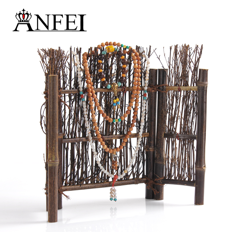 2015 New Dispaly board Jewelry,Bamboo display shelf display props Wood plate furnishing articles plate tray 43cm*31cm(China (Mainland))