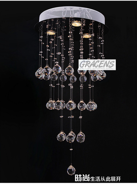 K9 Crystal Pendant Lamp with OSRAM GU10 bulbs at Low Price, Free Shipping (SLDC036)