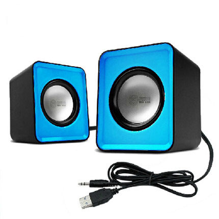2015 Consumer Electronics Accessories Parts Speakers Desktop Laptop USB mini speaker box small stereo MP3 portable