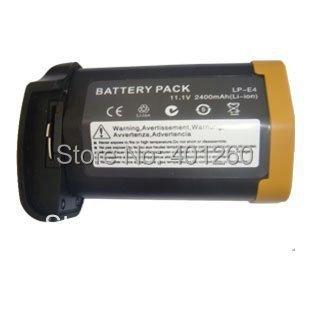 Digital Camera Battery For CANON EOS 1D 1DS MARK III 3 LP-E4 E4 Free shipping(China (Mainland))