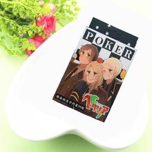 Anime Axis Powers Hetalia Figures cosplay Ukraine, Italy,United States,United Kingdom,Russia Poker Playing Cards Toys Free 54pcs