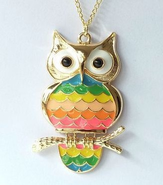 Fashion Necklaces Retro Owl Necklaces Long Sweater Chains Women Girls Korean Style Vintage Owls Pendant Necklace Ancient Jewelry(China (Mainland))