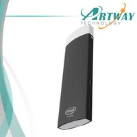 Artway  free shipping A8 with  windows8.1 android4.4 dual OS TV Box CPU Intel Atom Z3735F 64bit Quad Core tv dongle mini pc