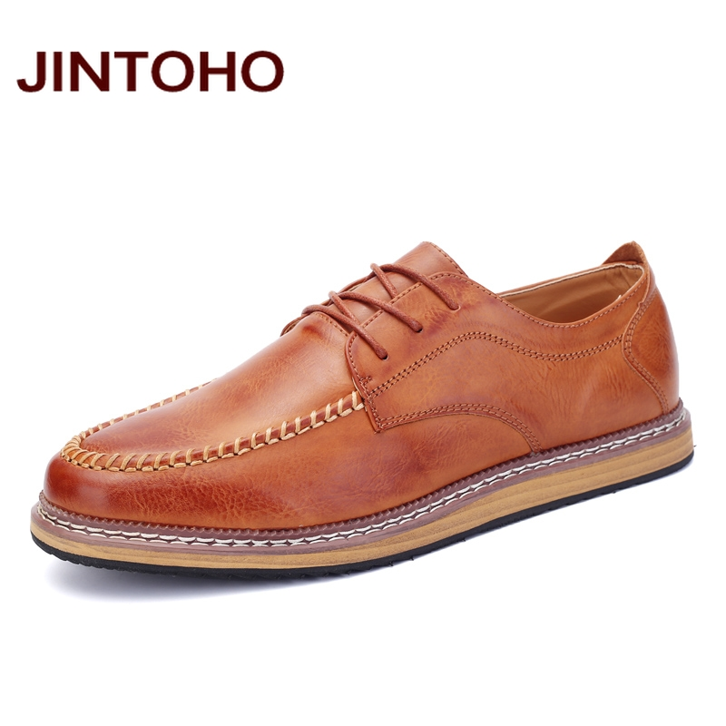 JINTOHO black & brown mens casual italian leather shoes pointed toe glitter men mocassins chaussures homme shoes online shop(China (Mainland))