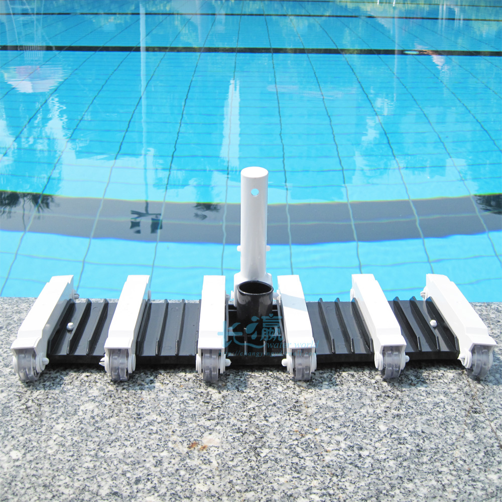 Swimming pool accessories 19inch pool vacuum head cleaner with ABS frame cleaning pool(China (Mainland))