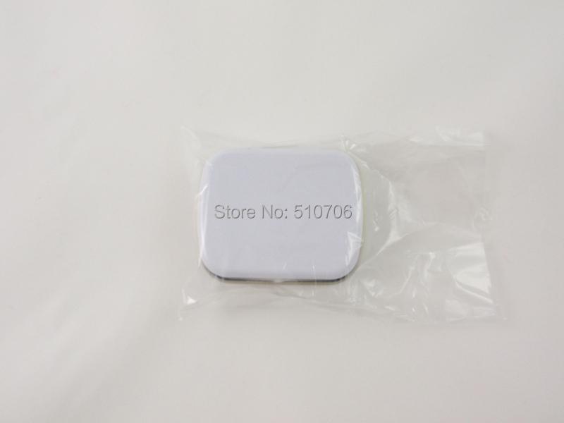 Free Shipping+Wholesale small size hinge tin box square tin white tin gift box sealing plain tin,400pcs/lot(China (Mainland))