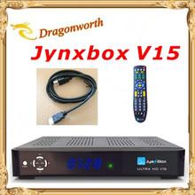 1 pcs haute qualité Jynxbox Ultra HD V15 récepteur Satellite 1080 p + gratuit JB200 8PSK Module Wifi pour l'amérique du nord bateau libre(China (Mainland))