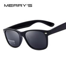 MERRY'S Men Polarized Sunglasses Classic Men Retro Rivet Shades Brand Designer Sun glasses UV400(China (Mainland))