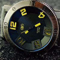 Leather Watch 188