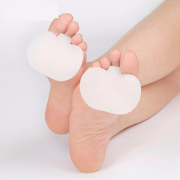 Fashion Forefoot Metatarsal Ball of Foot Support Gel Pads Sore Pain Insole Massage & Relaxation(China (Mainland))