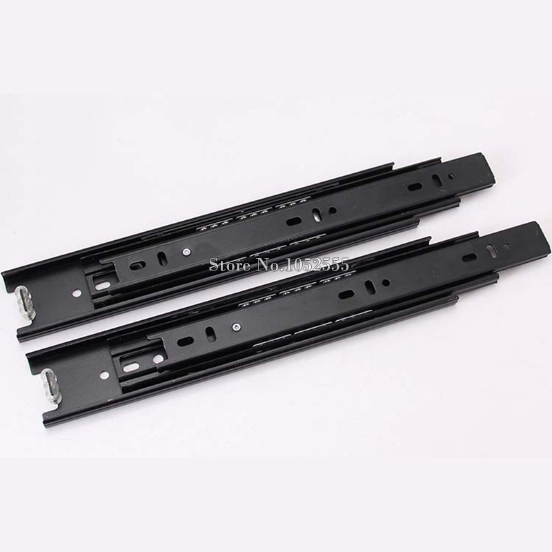 New Arrvial!!! 8inch Telescopic Drawer Runners Groove Ball Bearing Slide Rails Excellent Quality E178(China (Mainland))