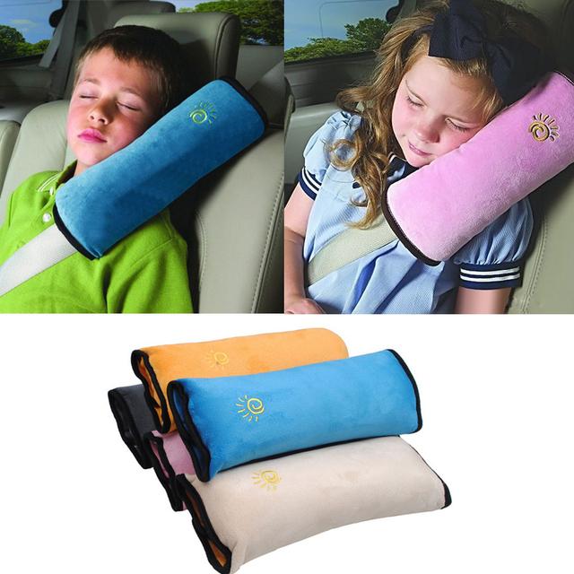 Детские подушки ремень безопасности и сиденья сна позиционера защитите плеча площадку ...