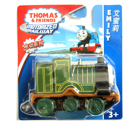 Authorized Thomas & Friends Electric locomotive Emily Diecast Metal Thomas hook Plastic metal Railroad Train kids toy(China (Mainland))