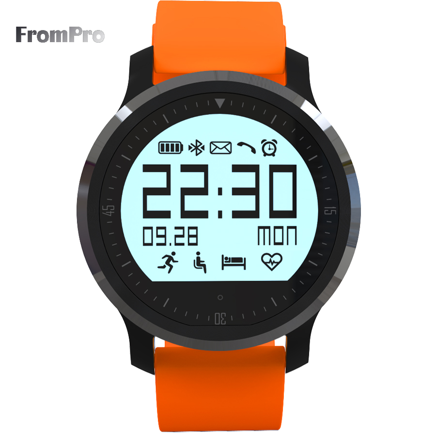 Smart Watch F68 IP67 Waterproof Support Heart rate Tracker Bluetooth 4.0 pedometer for android phone IOS8 Smartwatch<br><br>Aliexpress