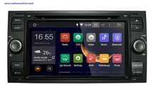 1024*600 Quad Core 2din Android 5.1 Автомобильный DVD для Ford Старый фокус 2 Kuga Mondeo Fusion Galaxy Fiesta Transit Connect S-MAX C-MAX