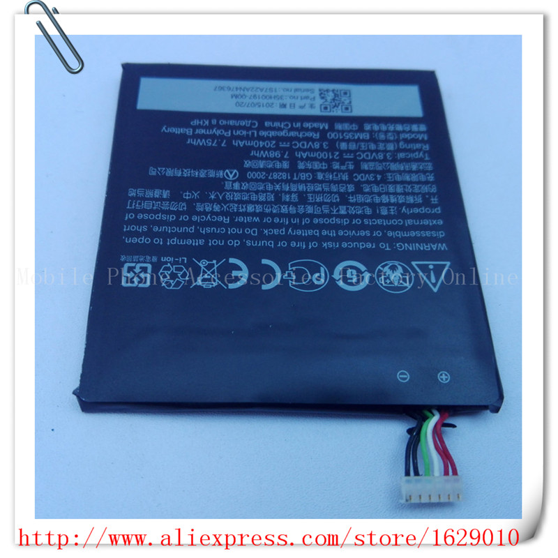 OEM Highly Internal Battery Mobile Phone BM35100 Replaccement Parts 3.8V 2100mAh For HTC One X + PLUS S728E Bateria Baterij