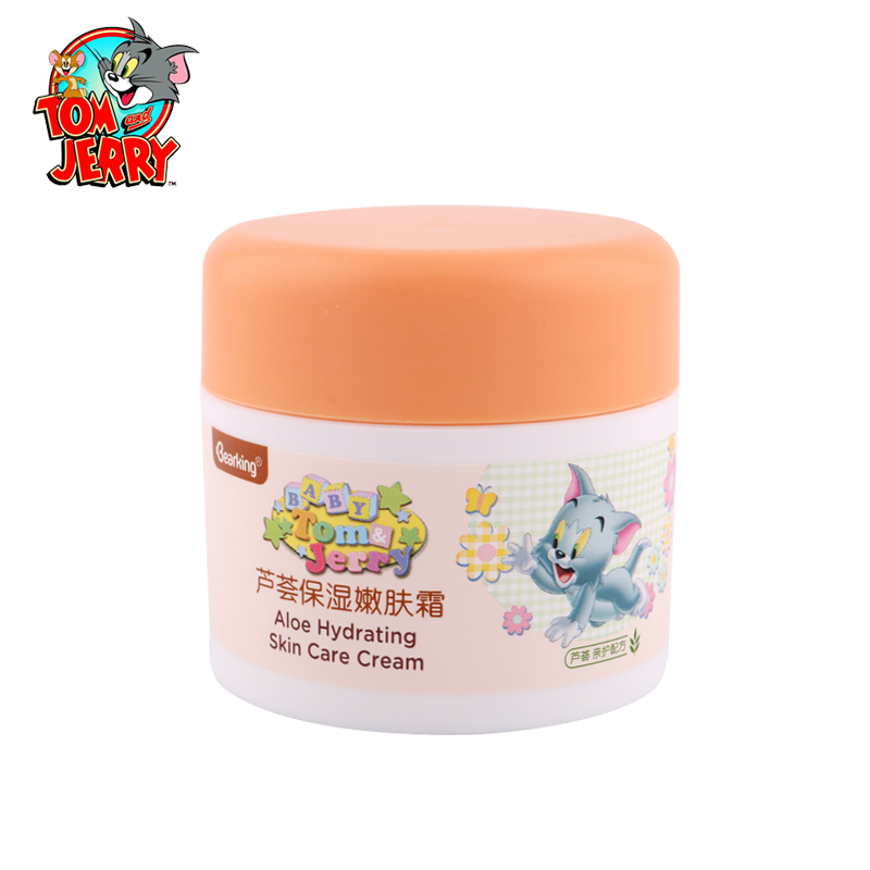 Brand Tom &amp; Jerry Babys Aloe Hydrating Skin Care Cream Natural Formula For Infants Babys Skin Care Moisturizing Products 50g<br><br>Aliexpress