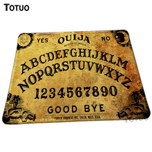 New direct selling ouija board Background Pattern DIY Printing Gaming Rectangular Mouse Mat Optical  Animation Mice Pads