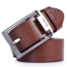 free shipping 2015 hotsale strap male Genuine leather strap fashionable casual wide cowhide belt pin buckle