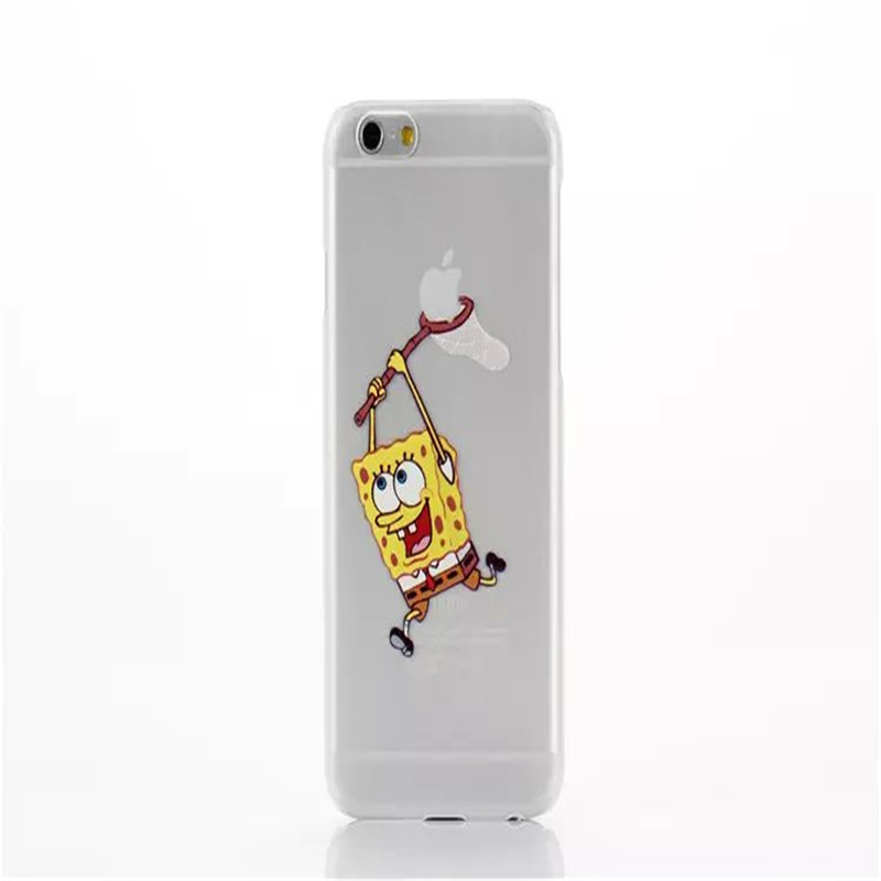 Soft Cover For iPhone 6/6plus Homer Simpsons Case Hand Grasp Logo Transparent Clear Case Shell Free Shipping(China (Mainland))