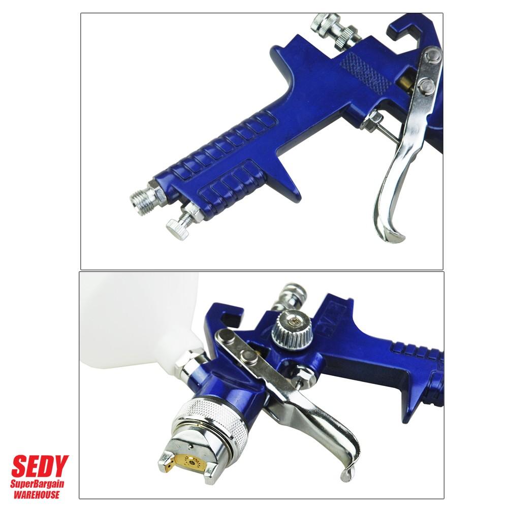 3 in 1 Gravity Feed Hvlp Paint Spray Gun