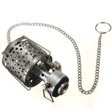 Mini Portable 80LUX Camping Lantern Gas Light Tent Lamp Torch Hanging Metal Lamp-chimney Butane  for Outdoor Travel(China (Mainland))