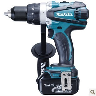 Original Makita makita BDF458RFE Cordless rechargeable drill electric screwdriver machine 18V3.0AH(China (Mainland))