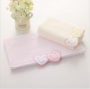 Free shipping ! wholesale low price 33*72cm 100g*5pcs/lot 100% cotton absorbent soft towel ,face cloths,washer towel,hand towel