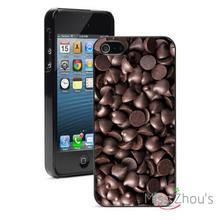 Chocolate Chips Protector back skins mobile cellphone cases for iphone 4/4s 5/5s 5c SE 6/6s plus ipod touch 4/5/6