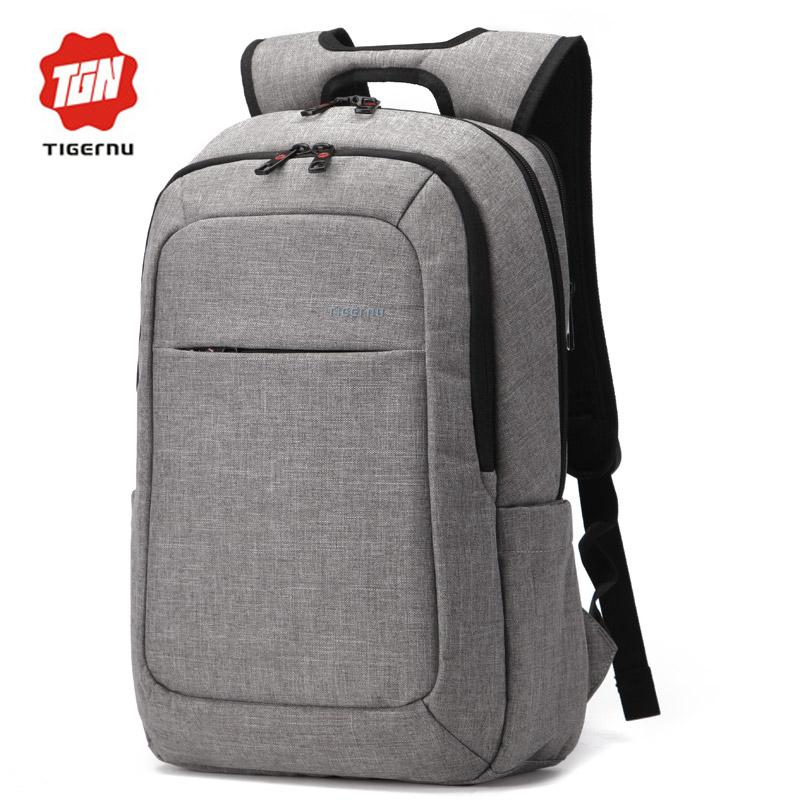 Tigernu Customized 4 Colors Laptop Bag Fashion Backpack Women Travel Backpack Bag Laptop Bags Men's Business Casual Laptop Bag(China (Mainland))