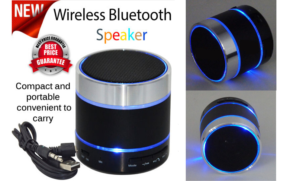 Portable Mini Bluetooth Wireless Speaker Handsfree Loudspeaker With Mic +TF Card Slot FM Radio for iPhone 6 Samsung Android(China (Mainland))