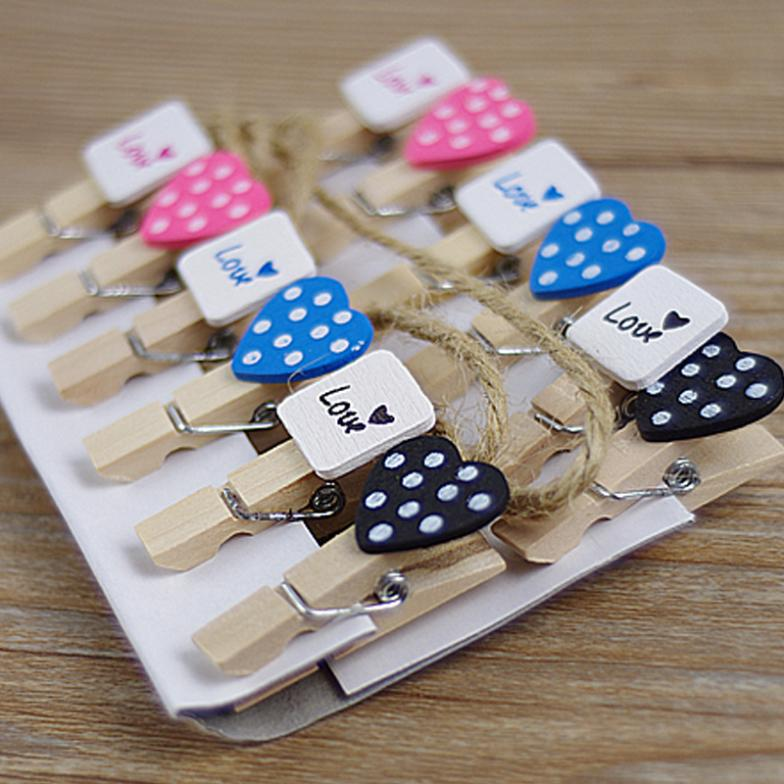 Wooden Banner Clips Pegs