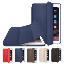 Original Official 1:1 Slim Leather Magnetic Smart Case Cover For Apple iPad mini 1 mini 2 mini 3 with Screen Film and Stylus Pen(China (Mainland))