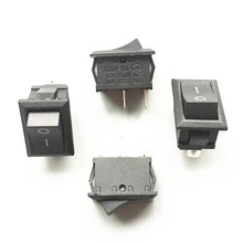 Buy Free KCD1-101 10PCS/Lot 2 Pin SPST On/Off Position Snap Boat rocker switch Button Switch 6A/250V 21*15mm for $1.53 in AliExpress store