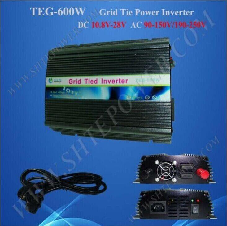DC AC inverter 220V 600W for solar, on grid tie panel solar converter/invertor 600W 24V-220V(China (Mainland))