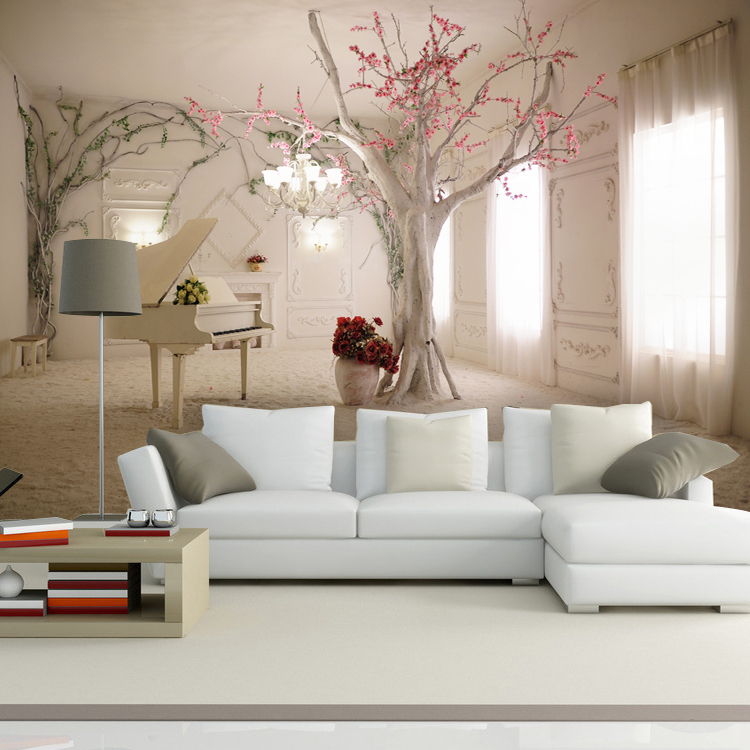 Custom Made European Style Photo 3d Wallpaper 3d Wall
