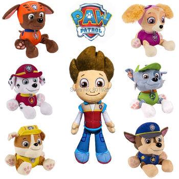 1 шт. 20 см Paw патрульные собаки фаршированные плюшевые игрушки мягкие плюшевые игрушки подарок для детей juguetes, Brinquedos куклы