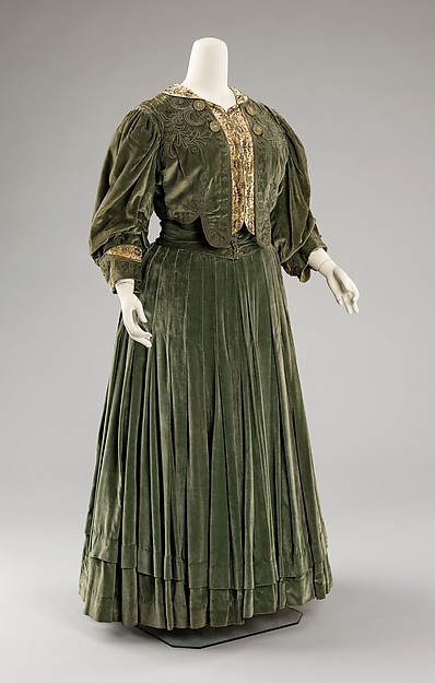 1903 Edwardian Period French Fashion Belle Epoque Afternoon Dress(China (Mainland))