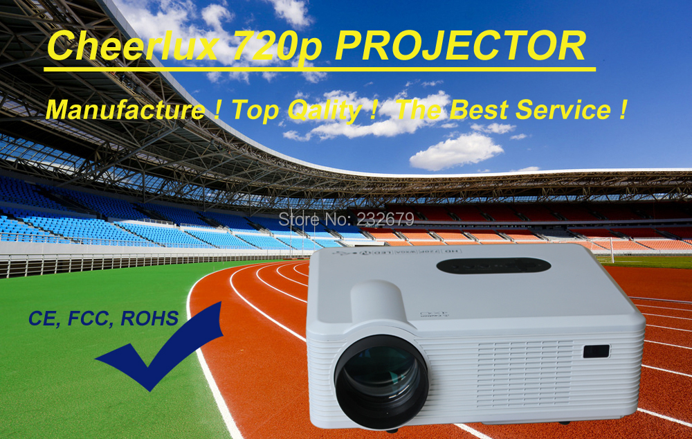 wholesale price hd native 1280*800 projector with multimedia interfaces for bar KTV home entertainment samall meeting room(China (Mainland))