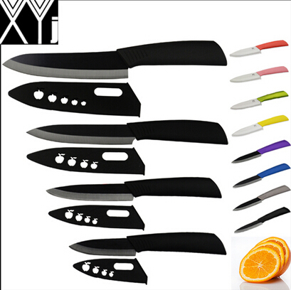 global quality 3 4 5 6 inch ceramic knife set kitchen knives black blade black colors - Luxury Global Knives 6 Piece Set