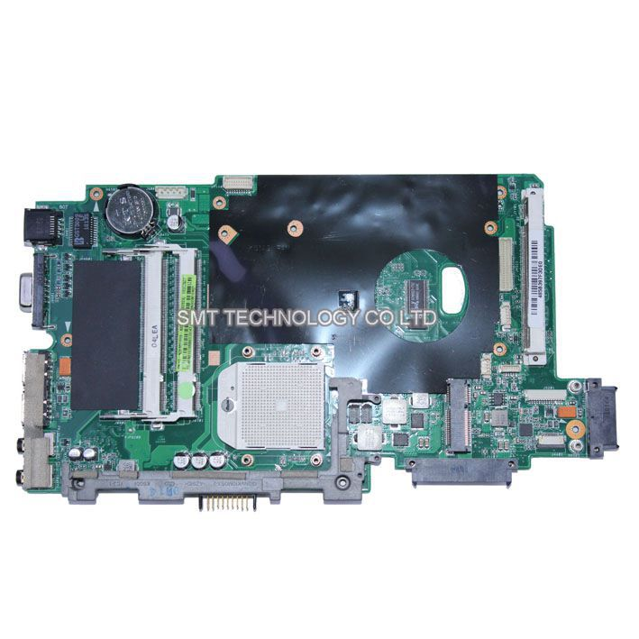 K70AF K70AD Laptop Mainboard Motherboard For Asus K51AB REV:2.3 DDR2 With Graphic Solt Fully Tested & Working Perfect(China (Mainland))