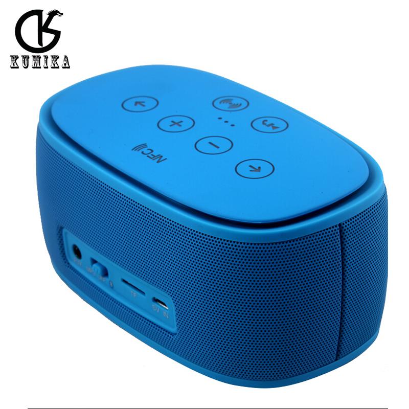 1+1 Bluetooth Speaker portable wireless mini boombox 3D surround loudspeakers NFC Handsfree subwoofer altavoz for phone computer(China (Mainland))