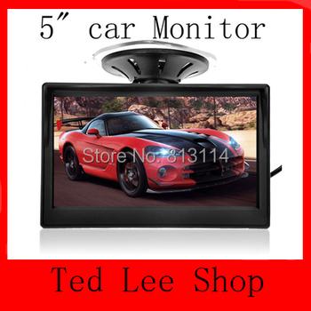 2 разъемы видеовход 5 дюймов TFT LCD дисплей 800 x 480 определение цифровой панели монитор вид сзади автомобиля для камеры заднего вида
