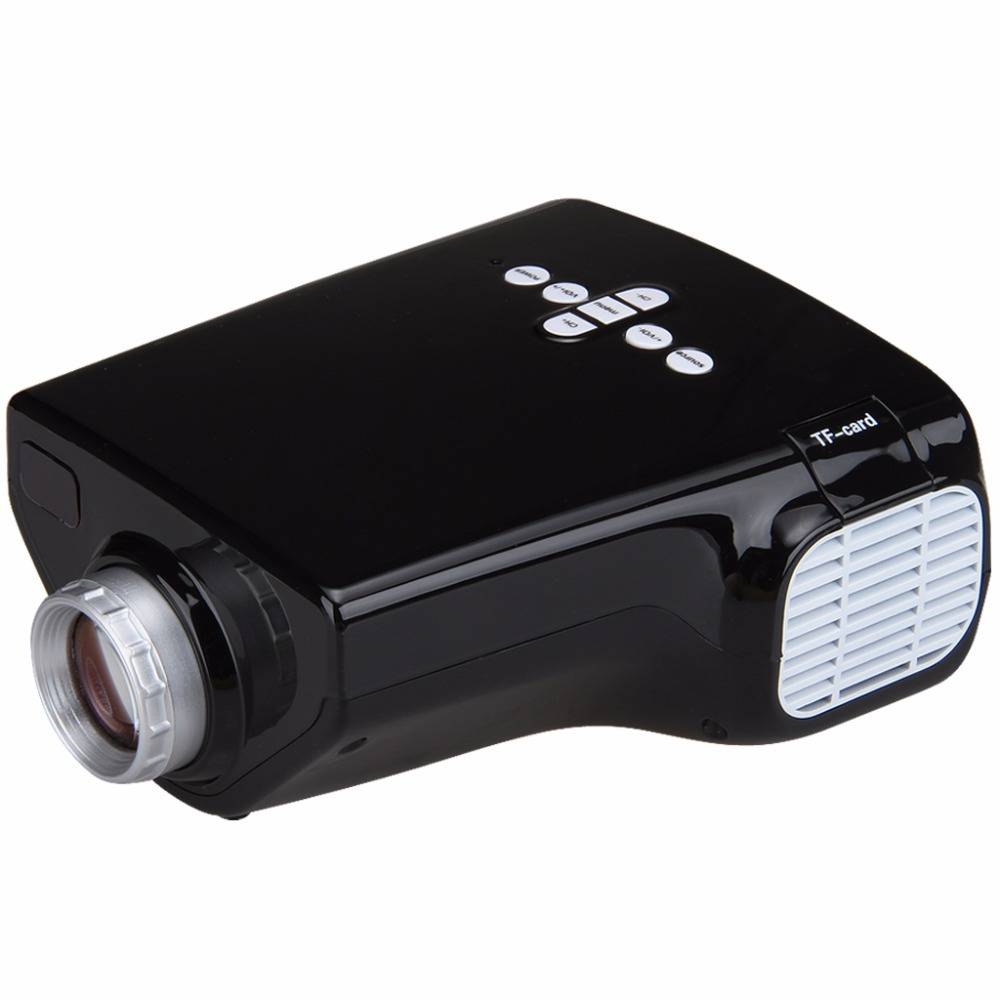 Popular E03 Tv Projector Mini Led Projector Home Theater: E03 Portable Mini Projector Home Theater Video LED/LCD